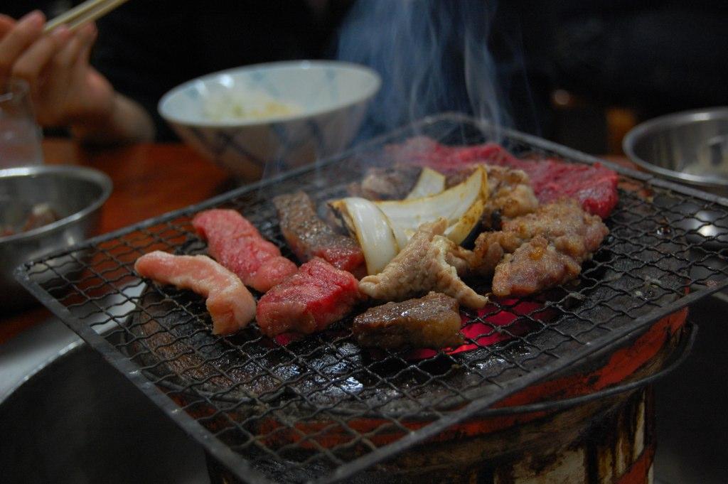 yakiniku tipo de comida do japão