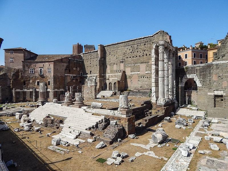 Roteiro de 3 dias em Roma para a terceira idade.