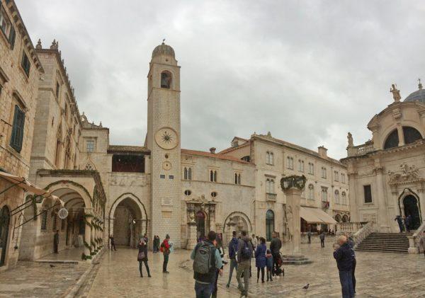 Um dia em Dubrovnik durante uma parada de cruzeiro.