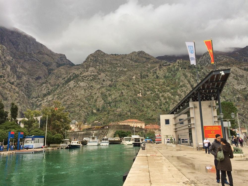 Porto de Kotor.