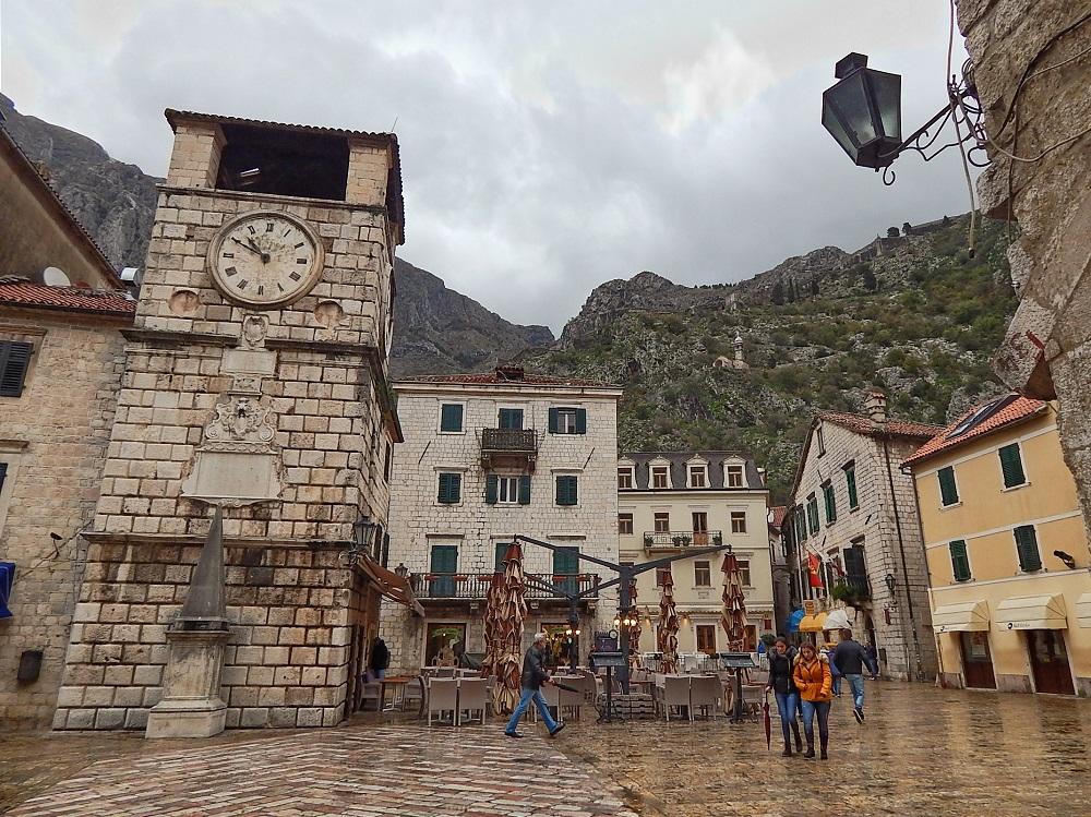 Praça de Armas de Kotor.