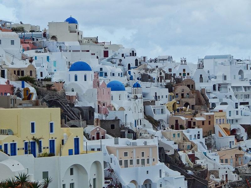 Santorini: roteiro de um dia