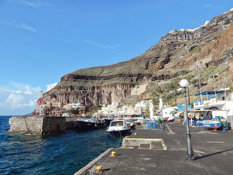 Porto Antigo de Santorini.