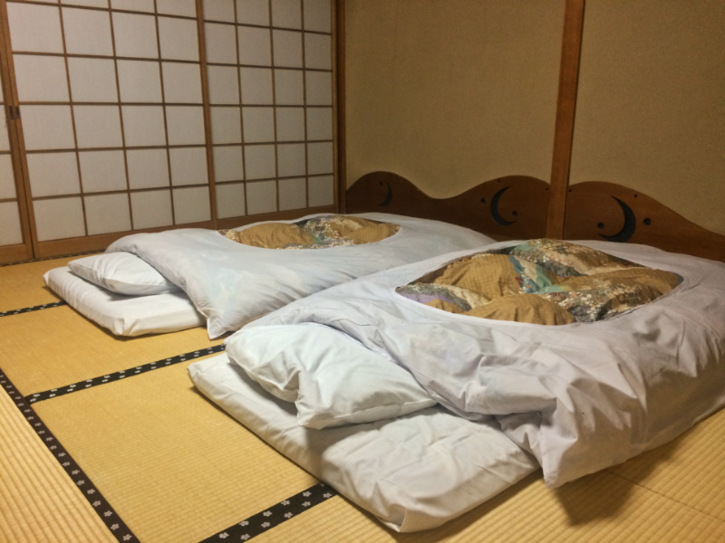 futon ryokan