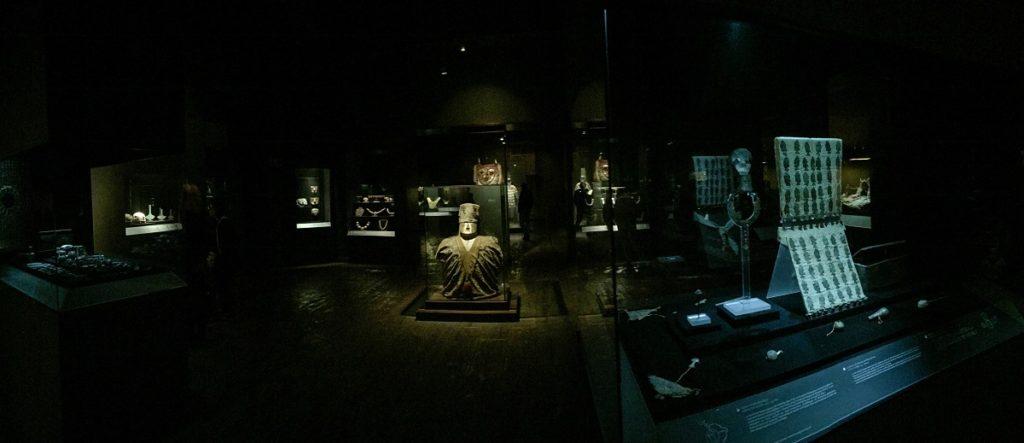 acervo no museu Larco