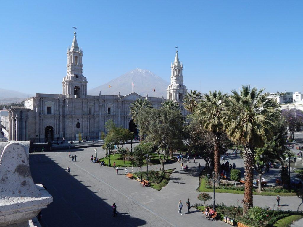 Roteiro de viagem pelo Peru - Arequipa.