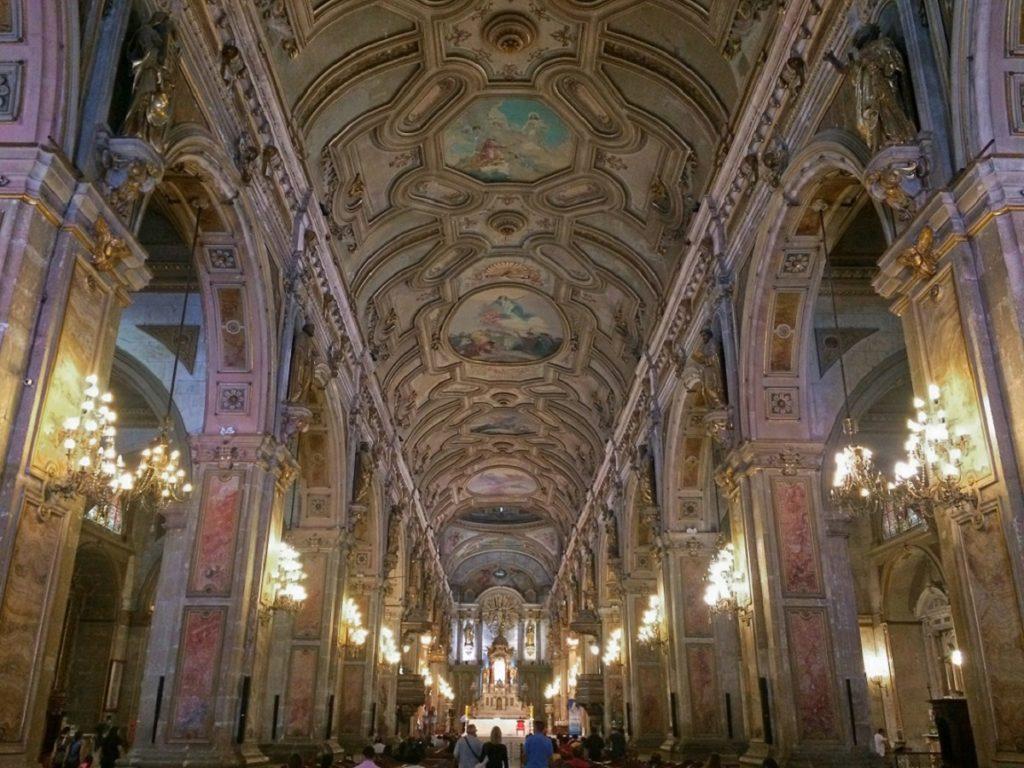 Catedral Metropolitana de Santiago.