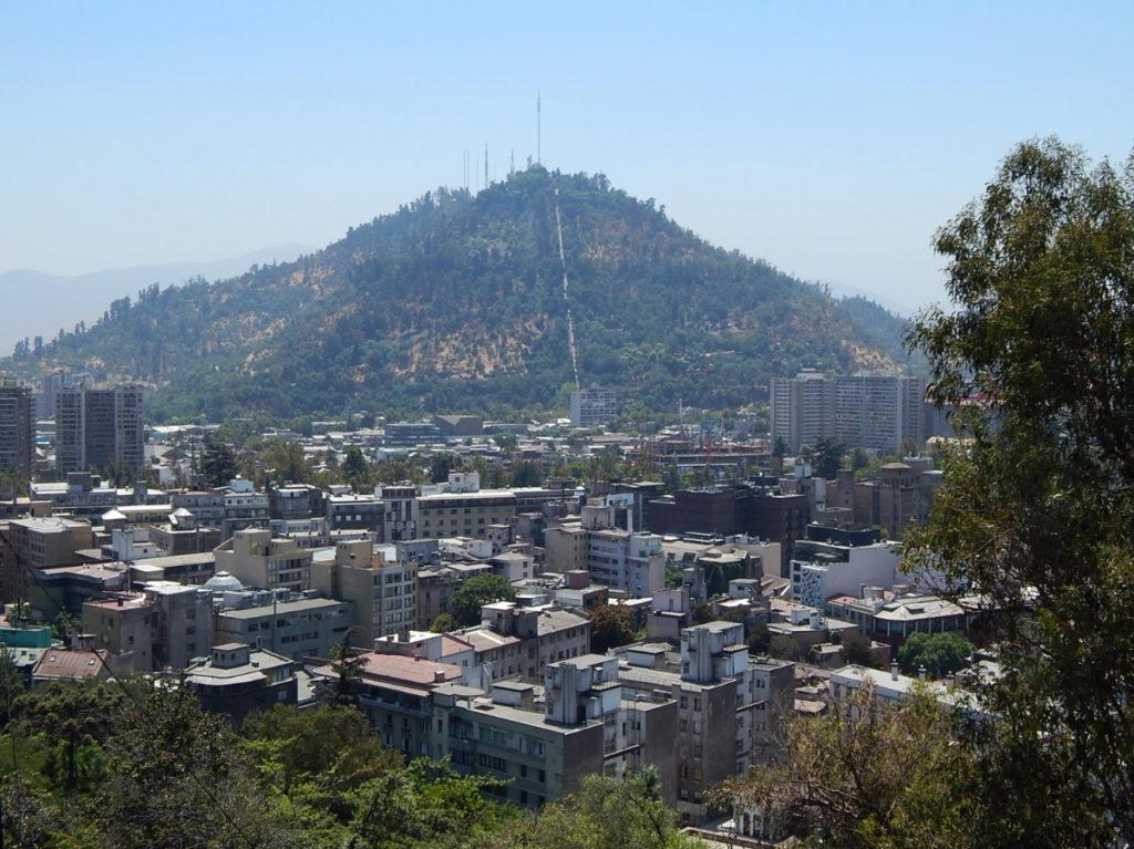 Cerro San Cristóbal.