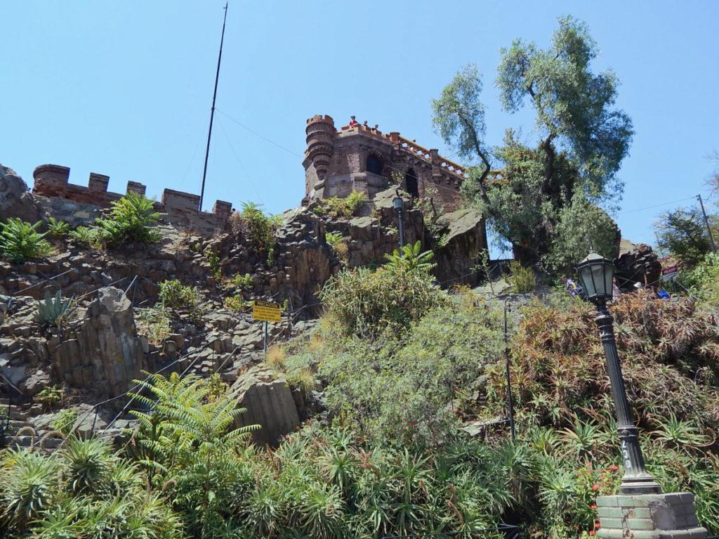 Cerro Santa Lucía.