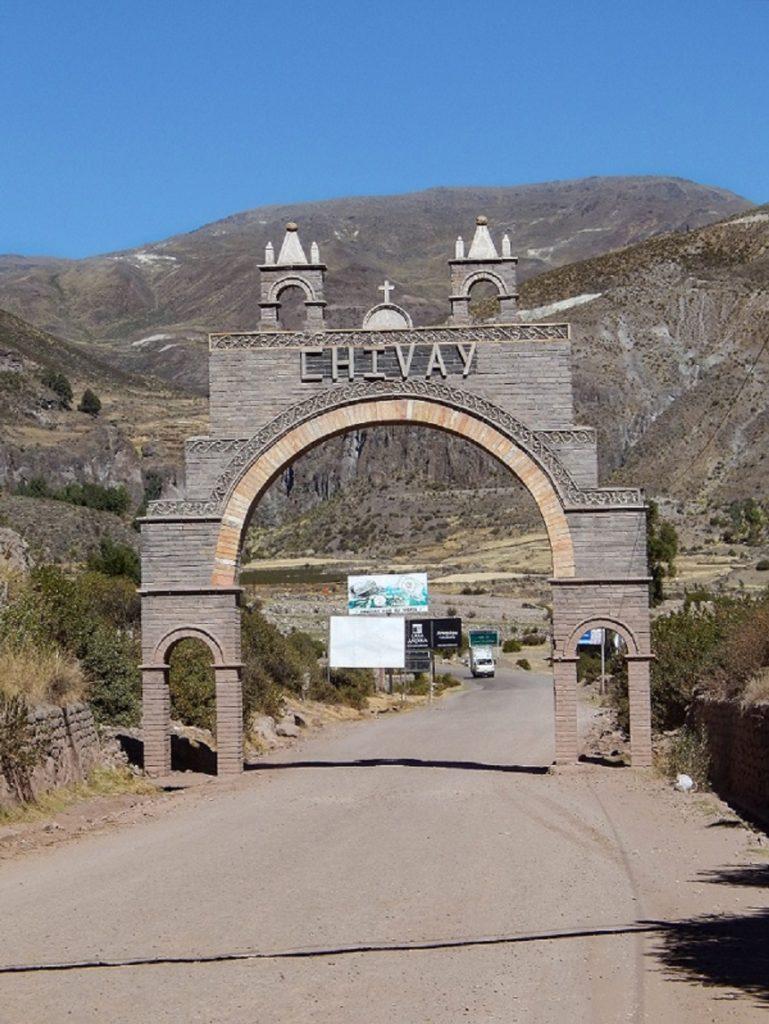 pórtico de Chivay