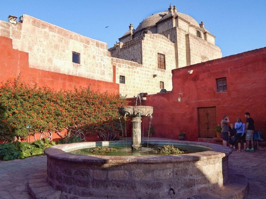monastério de santa catalina em Arequipa