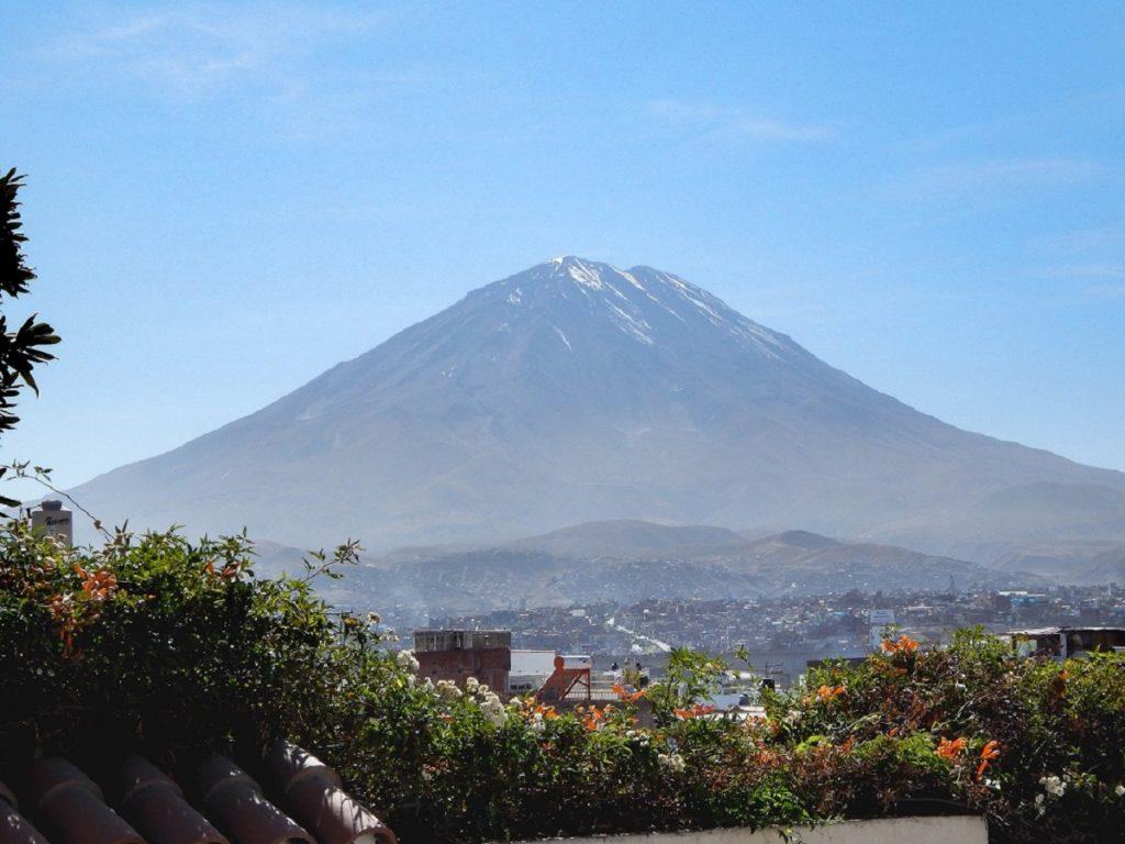 vulcão El Misti