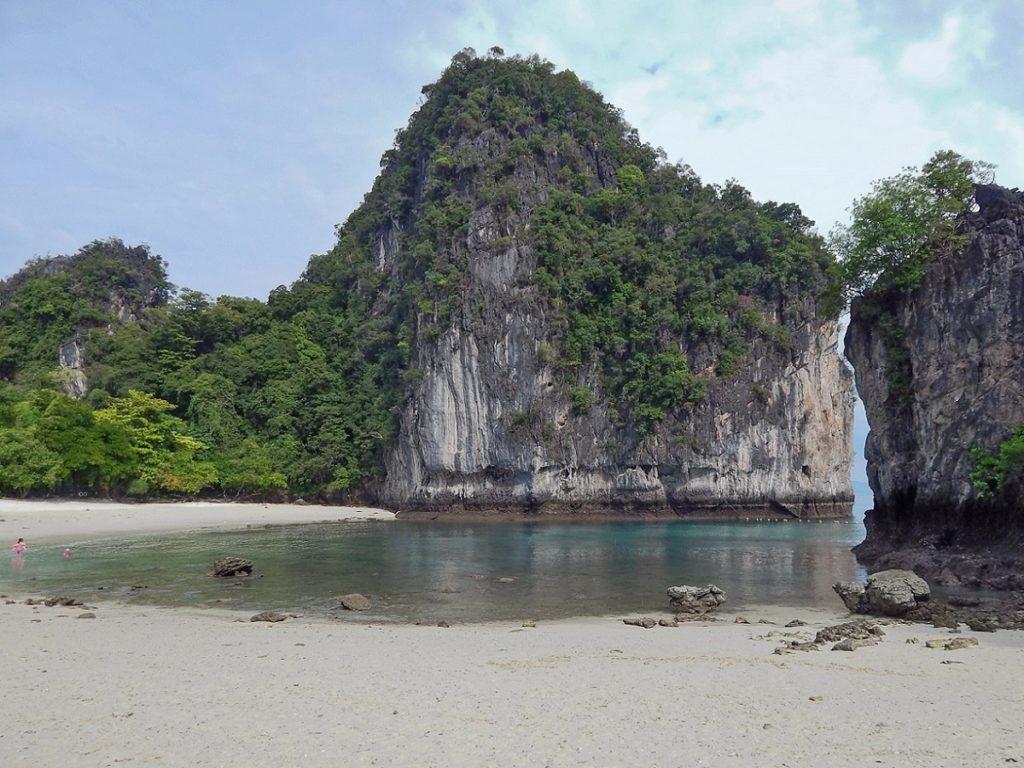 Praia de Hong Island.