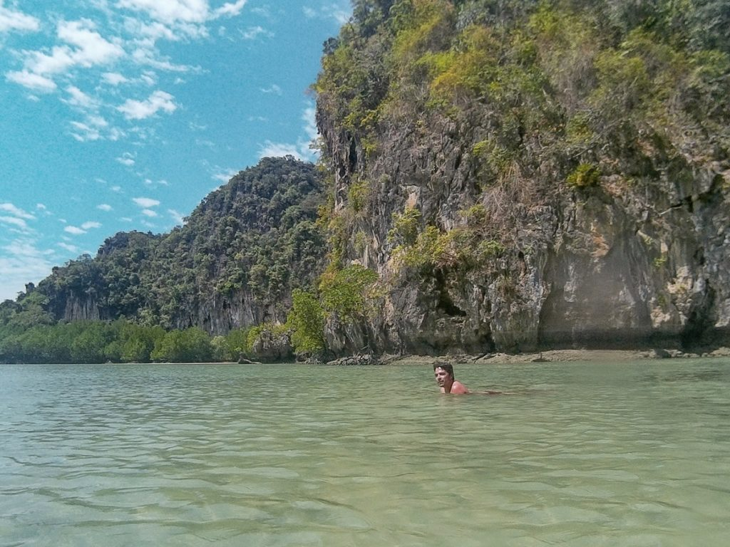 Hong Islan, Krabi, Tailândia.