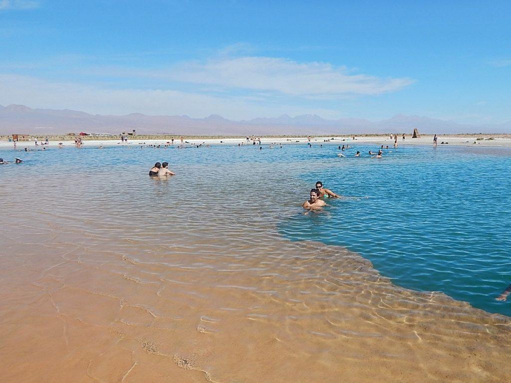 Laguna Piedra, no Atacama.