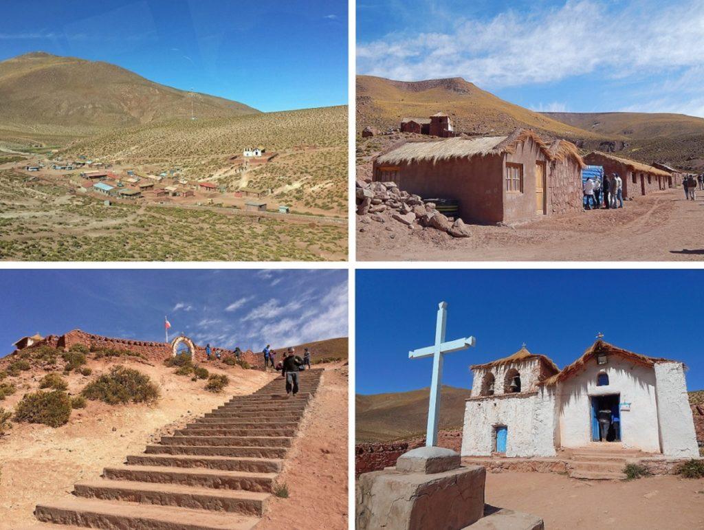 Povoado de Machuca, no Atacama.