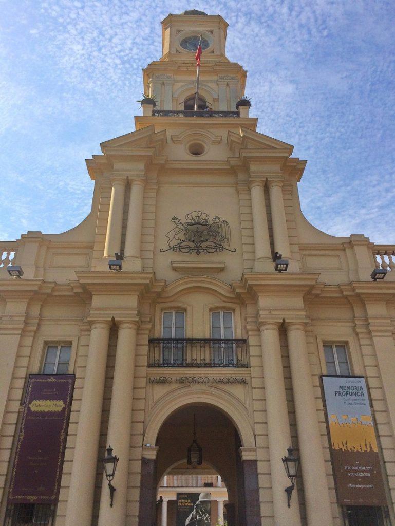 Museu Histórico Nacional de Santiago.