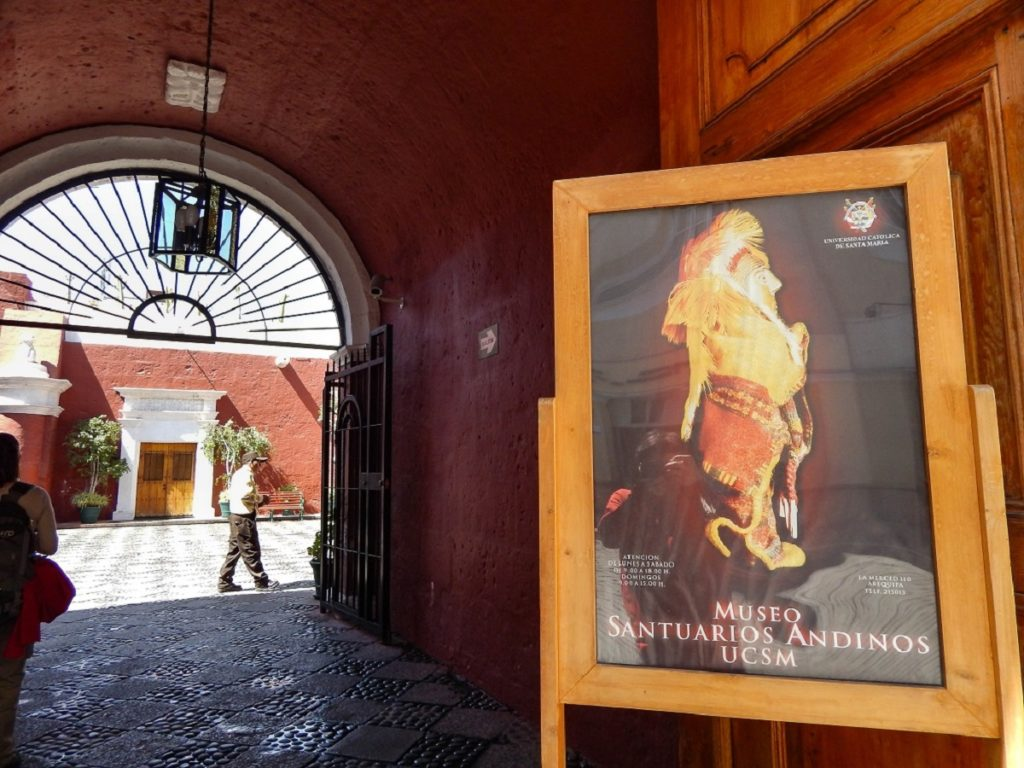 museu santuários andinos em Arequipa