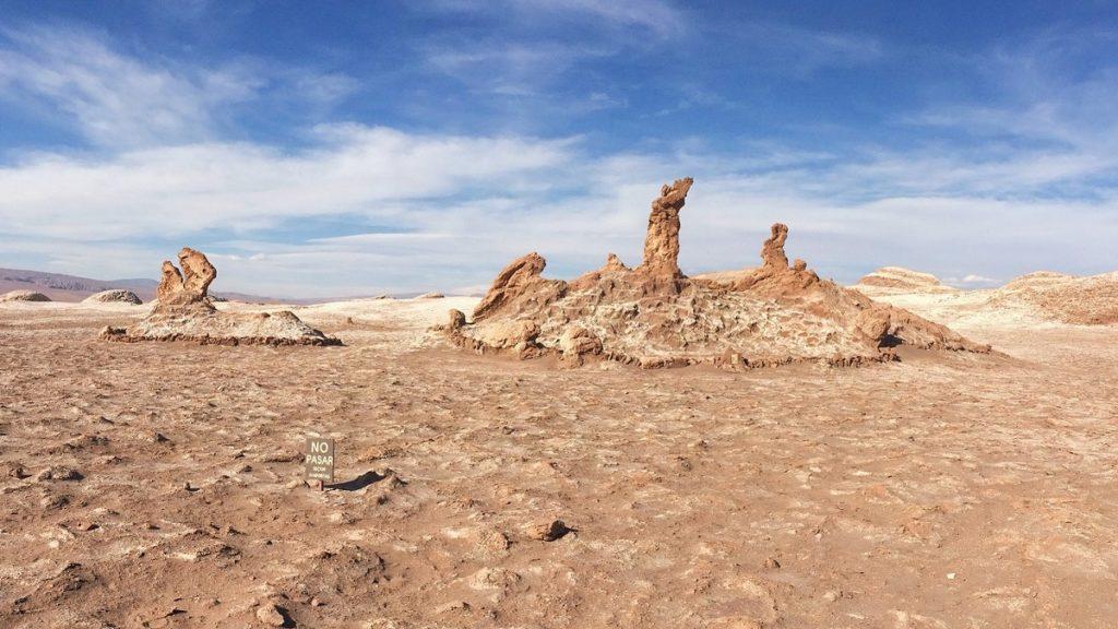Formação rochosa Três Marias.