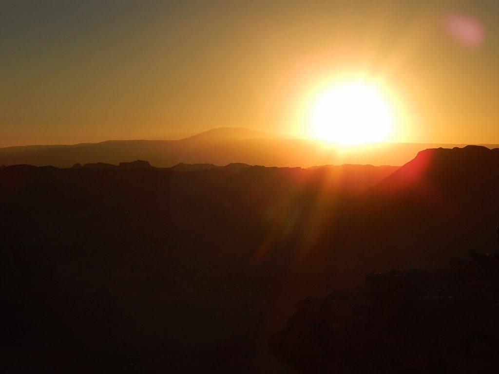 Valle de la Muerte, no Atacama.