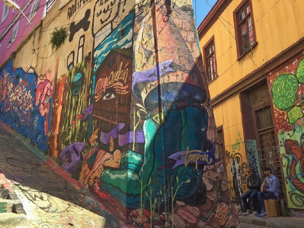 Bate-volta a Viña del Mar e Valparaíso.