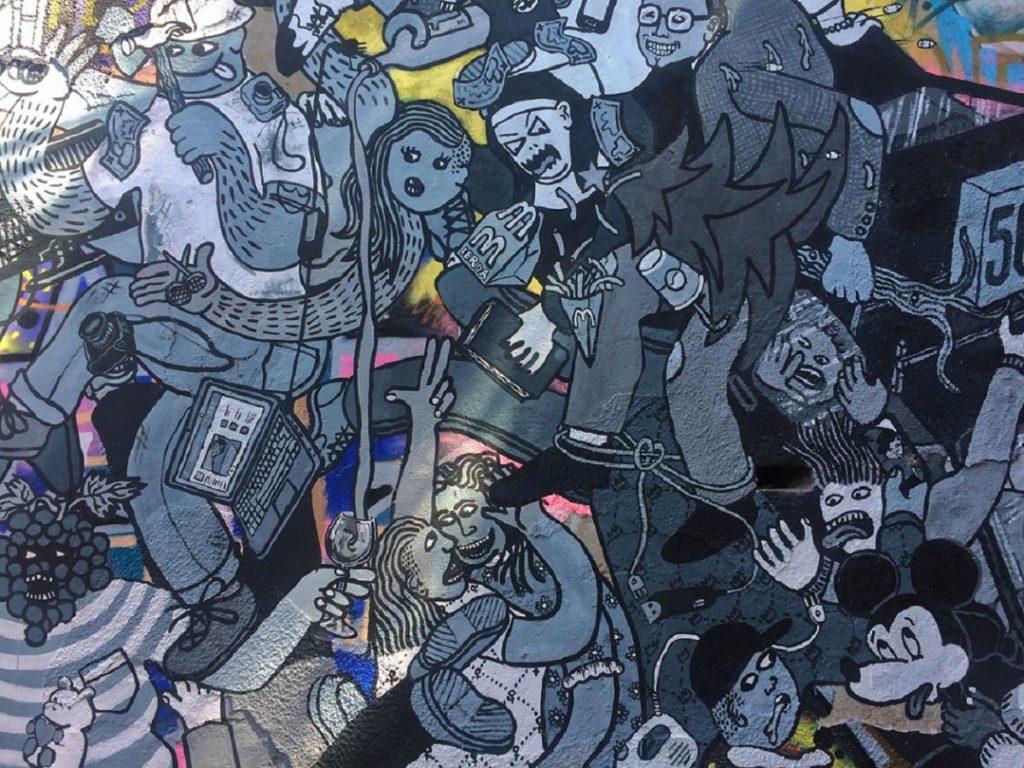 Street Art em Valparaíso.