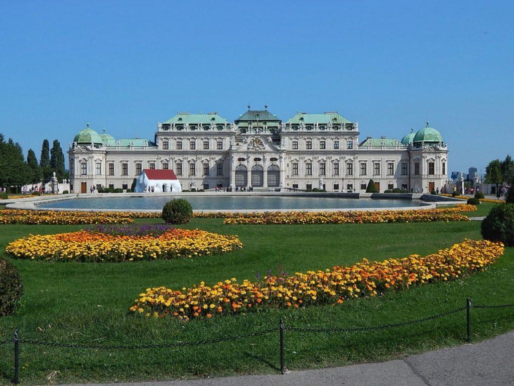 Belvedere em Viena.