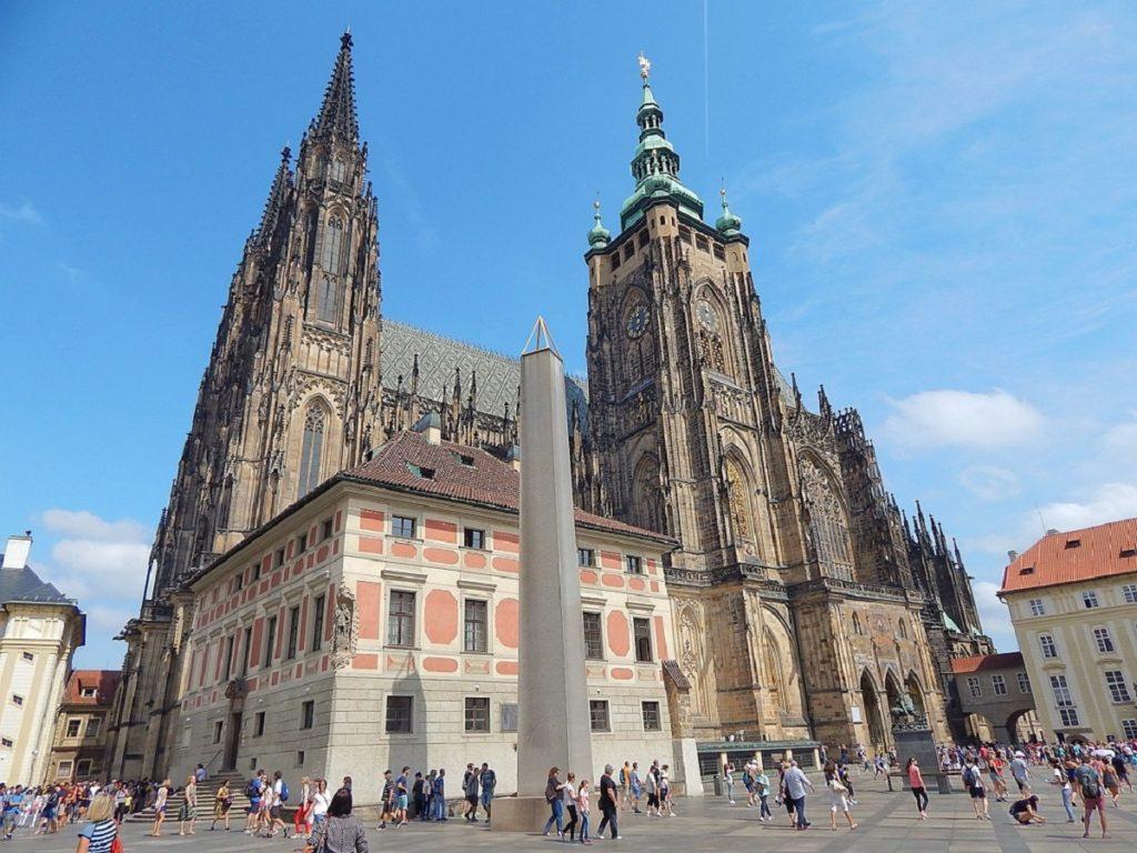 Catedral de São Vito, no Castelo de Praga.