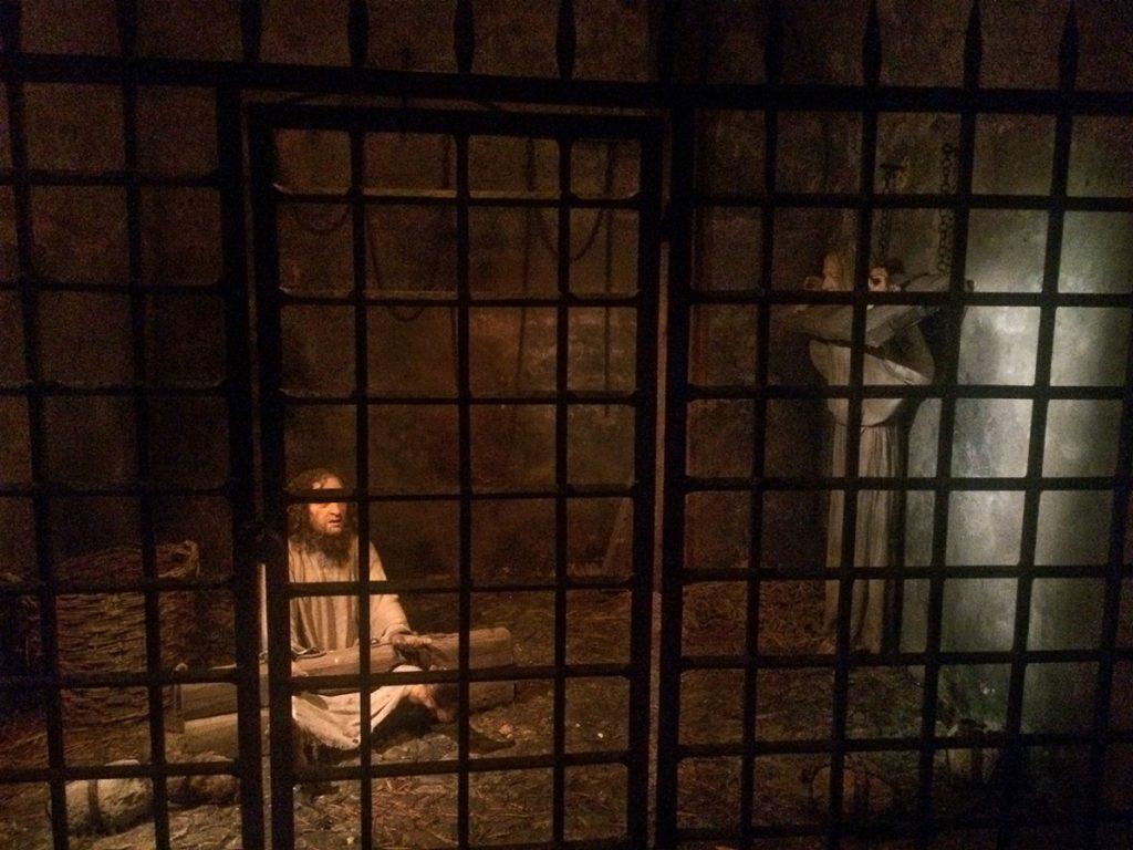 Museu da Tortura de Cesky Krumlov.