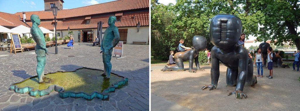 Esculturas de David Cerny.