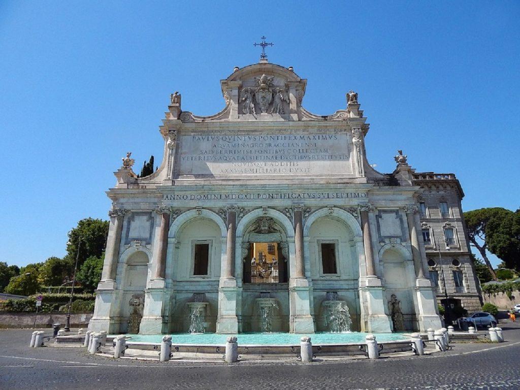 Fontana dell'Acqua Paola.