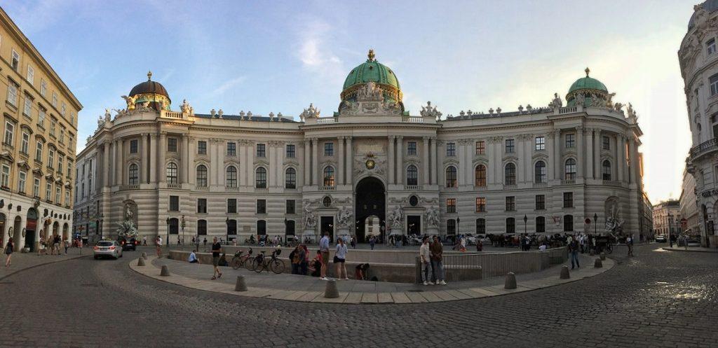 Palácio de Hofburg.