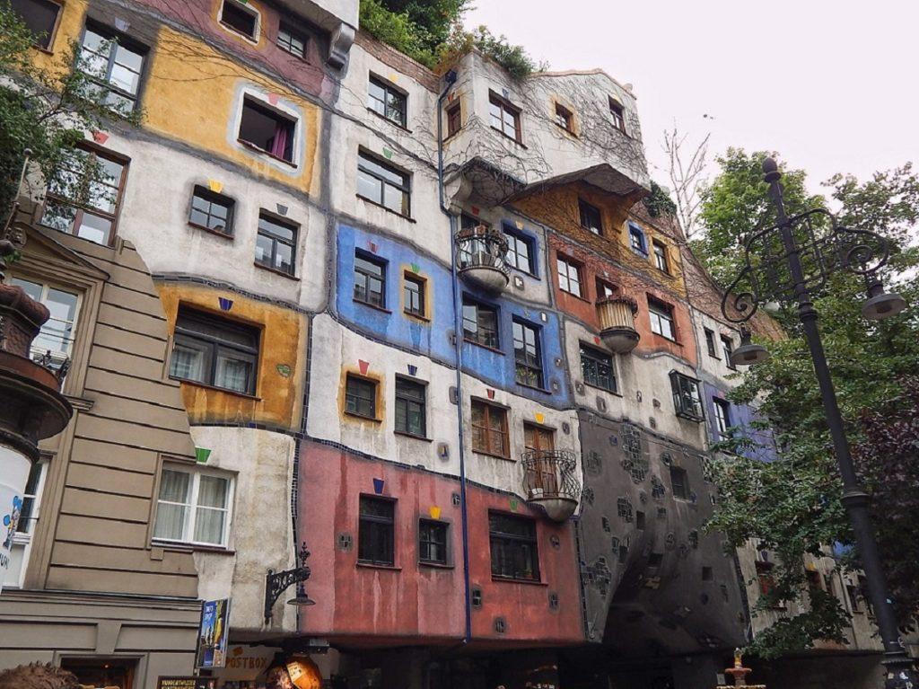 Hundertwasserhaus.