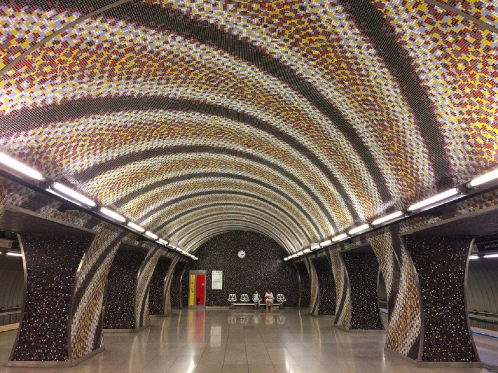 Estação de metrô Szént Gellért Tér.