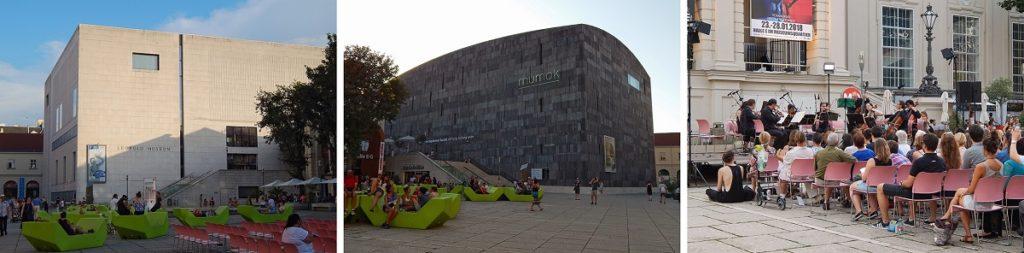 Museumsquartier.