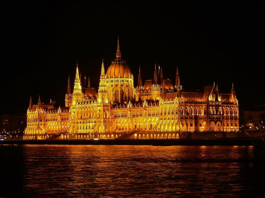 Parlamento de Budapeste.