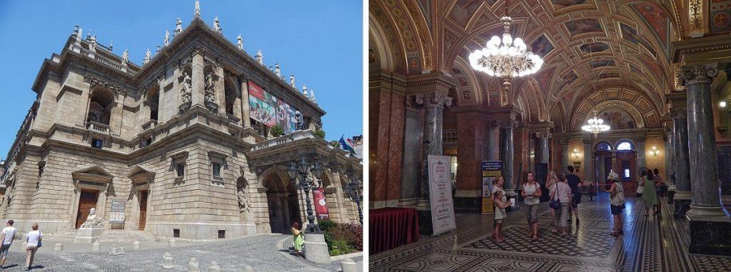Ópera de Budapeste.