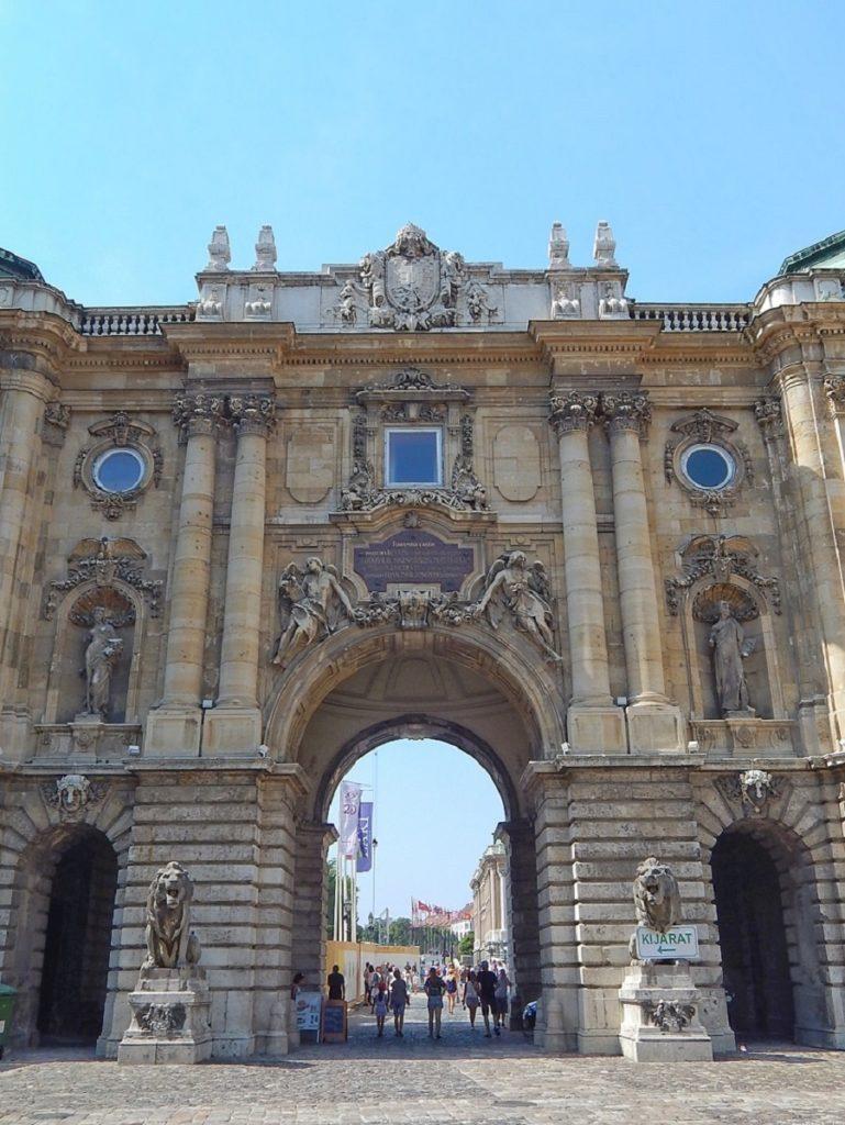 Palácio Real de Budapeste.