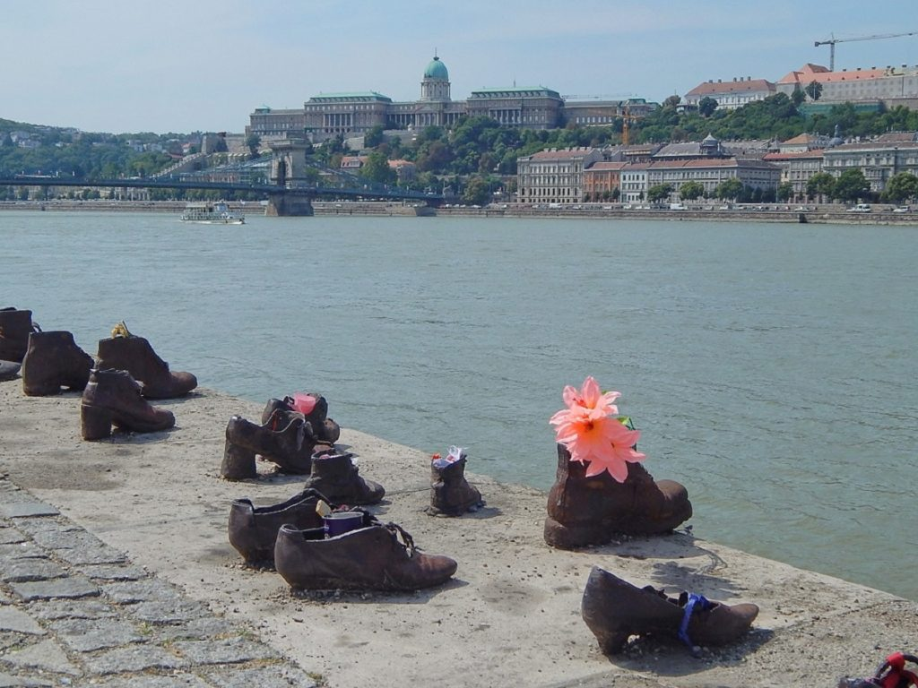 Shoes on the Danube Bank.