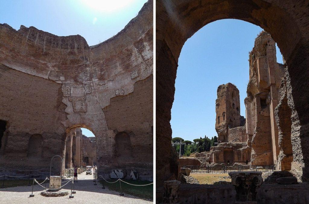 Roma pela segunda vez.