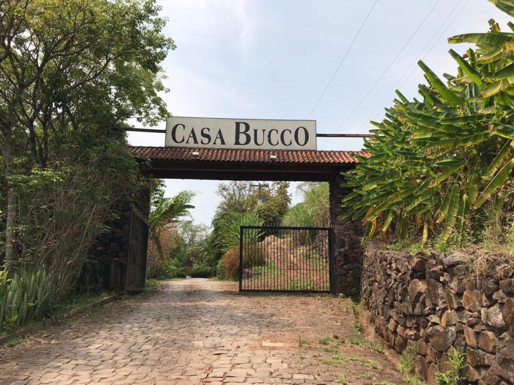 Casa Bucco entrada.