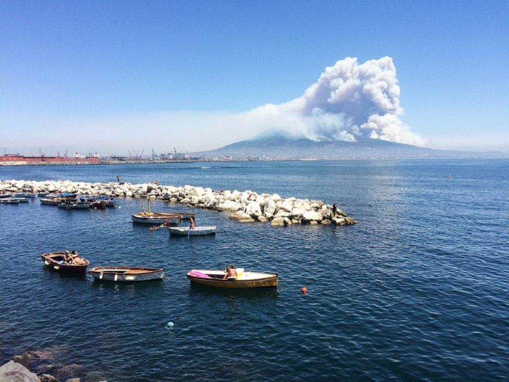 Nápoles em um dia.