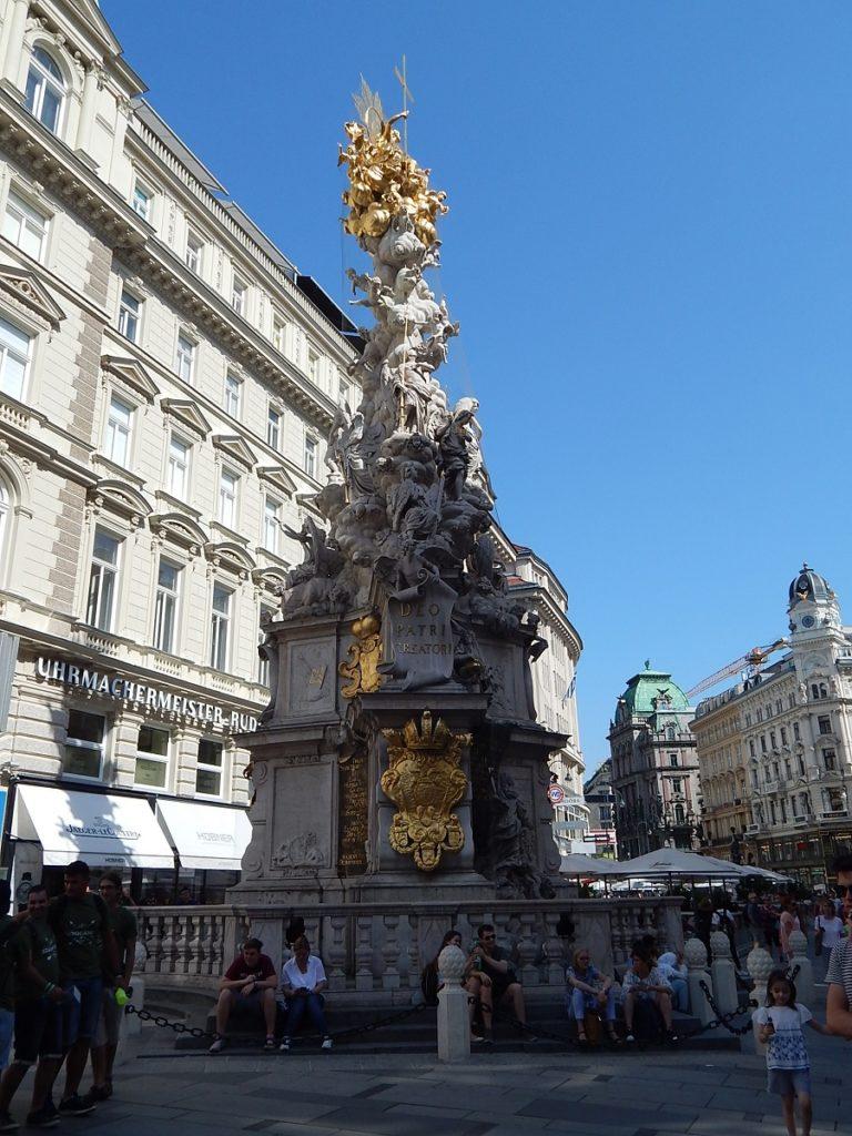 Roteiro a pé por Viena.